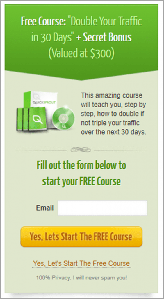 Free-Course-QuickSprout-Content-Marketing